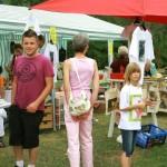 Flohmarkt auf dem Quätschichfest Sep.2011 in Kreuzwertheim. Claudia Albert und Artur Rösch aus der Frühmeß in Kzw. haben haben dies ermöglicht und sich die Mühe gemacht. Tausenddank!!!