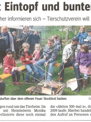 Frühlingsfest in der Wertheimer Zeitung